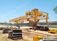Çin Beam Launcher Gantry Crane for railway construction project with Reliable performance şirket
