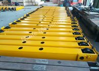 Çin Overhead And Gantry Crane Open Gear End Carriage / Crane Components Light Duty şirket