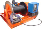 Çin 15t Lifting Load Electric Cable Hoist Winch Consisting Of A Horizontal Cylinder Fabrika