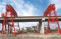 Çin QM70T- 30M - 22M Bridge Construction Site Truss Double Girder Gantry Crane şirket