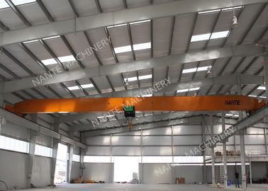 Çin 10T Single Girder Overhead Cranes For Factories / Material Stocks / Workshop Distribütör