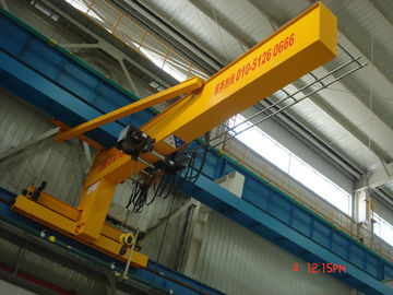 Çin Compacted Frame Wall Traveling Truck Jib Cranes For Fitting & Fabrication Workstation Distribütör