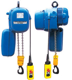 Çin SHH Electric Chain Hoists With Capacity Range 0.25T to 20T Fabrika