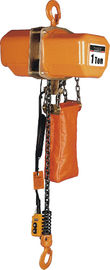 Çin Energy-saving Motor Solid Chain Bucket Electric Chain Hoists For Heavy Duty Industry Fabrika