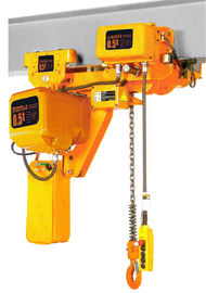 Çin Lifting Height 6-8m Low Headroom 3 Ton Electric Chain Hoists EHK­-L Type Fabrika