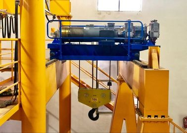 Çin 10T electric hoist lifting winch used for factory Distribütör