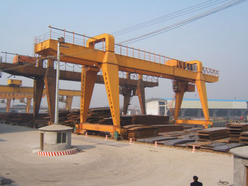 Çin MG120t - 32m - 22m Double Beam Gantry Crane For Steel Factory / Port / Shipbuilding Distribütör